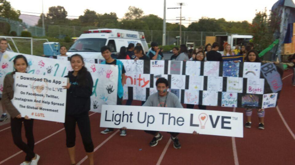 valley center high school light up the love